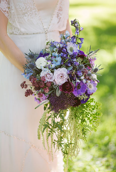 Something-Blue-Wedding-Bouquets-The-Bird-and-the-Bear